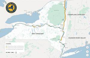 Dutchess Rail Trail Map on